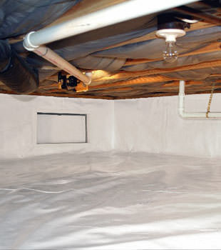 crawl space repair system in Campbell River