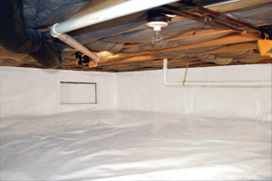 Crawl Space Repair After in Nanaimo