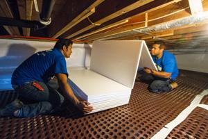 Crawl Space Insulation Company In Victoria Nanaimo