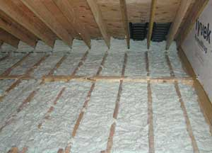 injection foam insulation for Duncan
